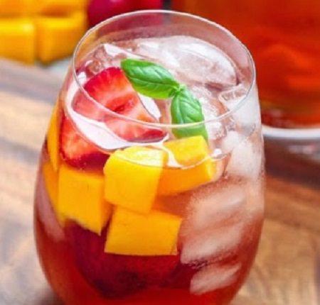 מתכון לתה קר עם אלכוהול
