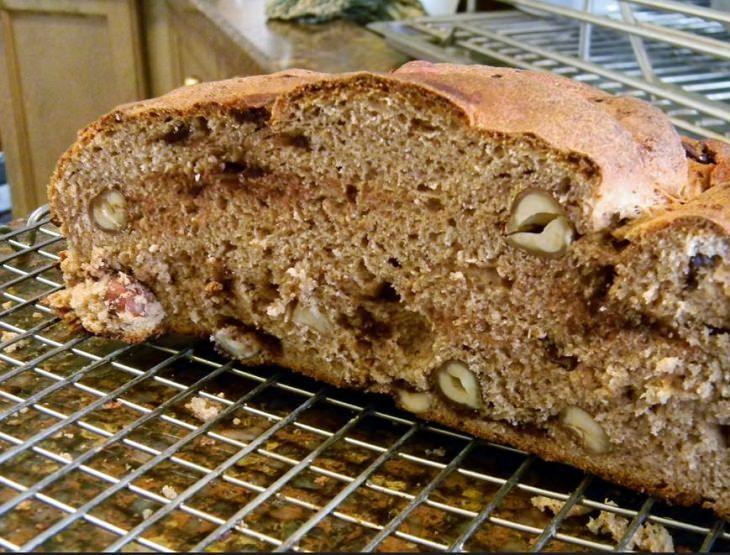 מתכון ללחם אגוזים