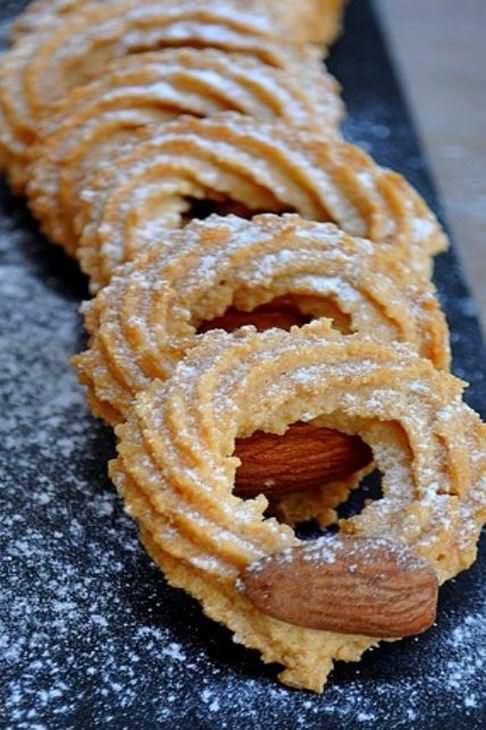 מתכון לעוגיות מכונה - עוגיות מרוקאיות