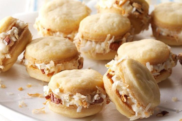 מתכון לעוגיות סנדוויץ' נהדרות עם פקאנים